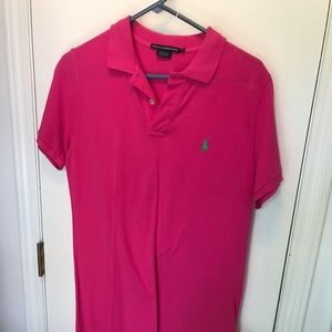 HOT Pink Knit Polo Dress - Ralph Lauren